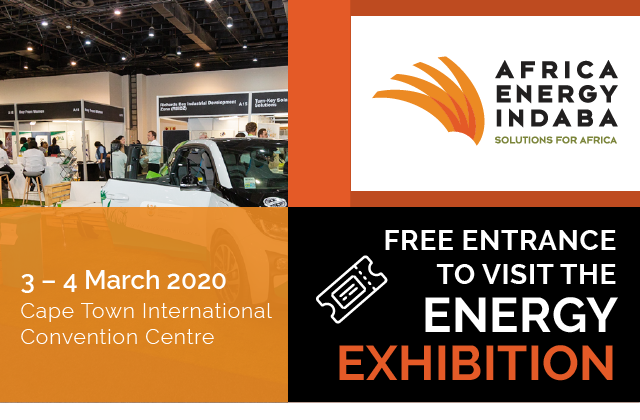 Banner: FREE ENTRANCE TO VISIT THE ENERGY EXHIBITION
